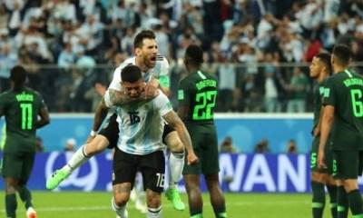 super eagles lose to argentina again