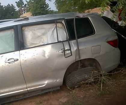 R-APC chairman Galadima involved in ghastly motor accident