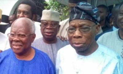 Obasanjo attends PDP rally