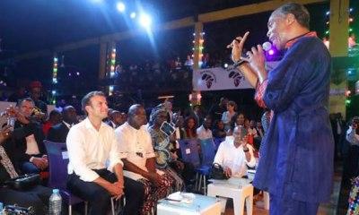 Why I visited Fela's New Afrika Shrine —Macron