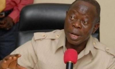 Resign if you don't want to be impeached, Oshiomhole tells Saraki