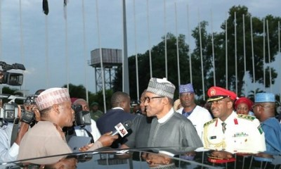 Buhari speaks! I've returned to jail more looters