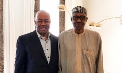 Akpabio in Nigeria's delegation as Buhari heads to China Friday