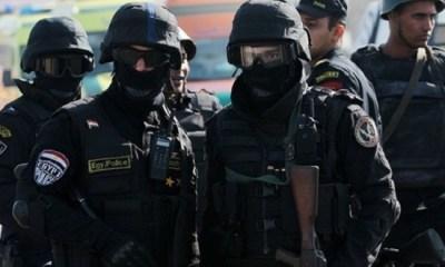 Egyptian police arrests 13 Muslim brotherhood members