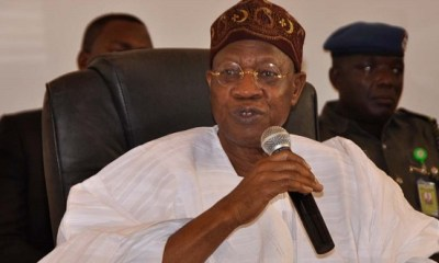 Welcome! Lai Mohammed reacts to Akpabio's defection