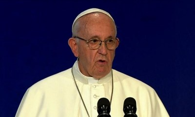 CATHOLIC CHURCH: Pope Francis likens sex abuse, corruption claims to excrement