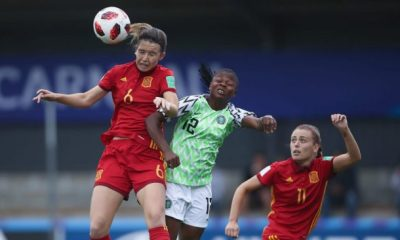 Falconets vs Spain