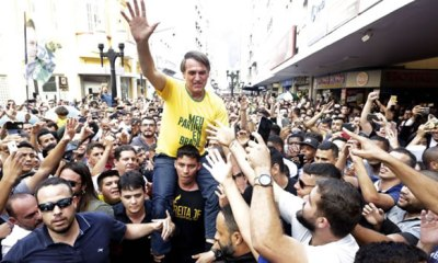 63-yr-old Brazilian presidential candidate stabbed during rally