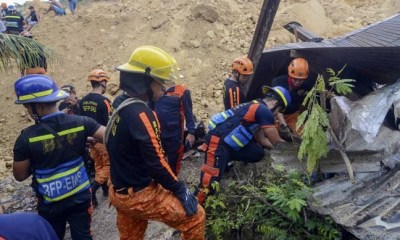 29 feared dead, 1,200 evacuated as fresh landslide hit Philippines
