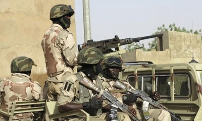 Soldiers neutralize Boko Haram terrorists on Maiduguri-Bama road