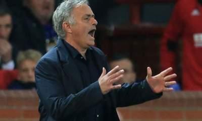 Jose Mourinho against Valencia
