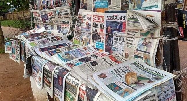 Biafra themed newspapars seized as DSS raids vendors in Asaba