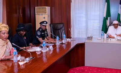 Buhari approves increment of police officers' salary