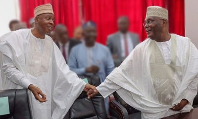 We're going to conduct one of the best presidential campaigns in history— Saraki