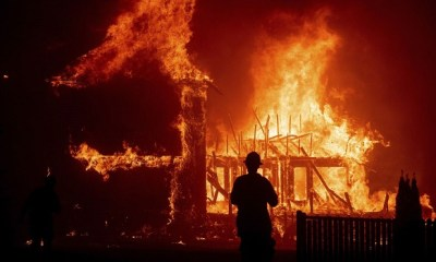 California wildfire claims 9 lives, 35 others missing