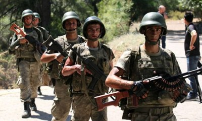 103 soldiers arrested in Turkey for allegedly having link to Ferthullah Gullen