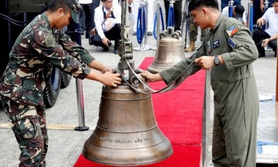 After 117 yrs, US returns looted bells to the Philippines