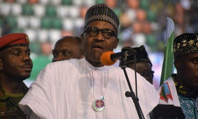 Boko Haram will be a 'thing of the past' if you re-elect me in 2019– Buhari