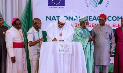 2019: Atiku, Sowore tell why they were not part of peace accord, as Ezekwesili, Duke shun meeting