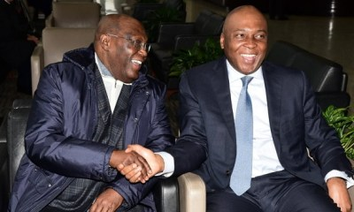 Long wait over as Atiku arrives America (Video)