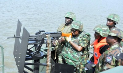 Navy arrests 19 imposters, recovers 900,000 litres of crude oil