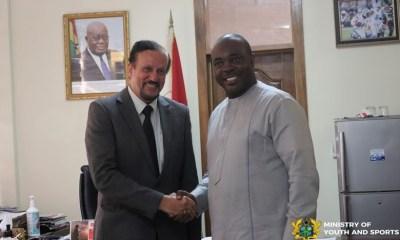 Ghana sports minister
