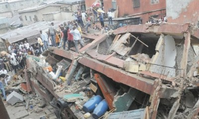 LAGOS: School children, many others feared killed as 3-storey building colapses