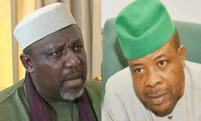 IMO: Okorocha dares Ihedioha, says he cannot order his arrest
