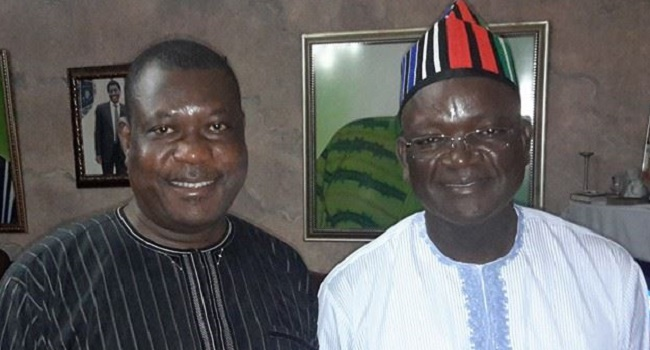 BENUE: Gov Ortom heaps accusations on APC, Akume ahead of governorship election