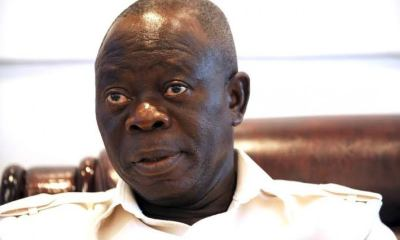 Oshiomhole berates PDP for probing how its members voted in NASS leadership elections