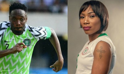 NFF Awards: Ahmed Musa and Onome Ebi