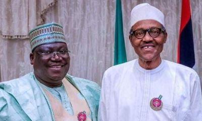 Buhari meets Lawan, Goje behind closed-doors ahead N'Assembly leadership election