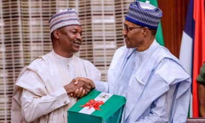 Buhari receives report on Financial Autonomy for state legislature, judiciary