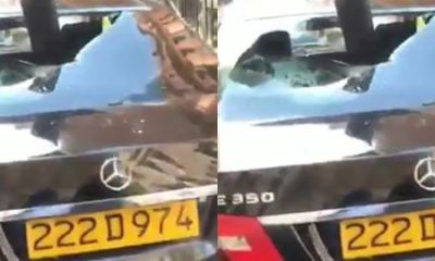 Nigerian arrested after vandalizing vehicles at high commission in London over passport