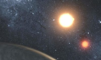 Astronomers discover rocky planet with 3 glowing suns