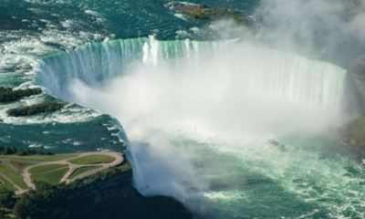 Canadian man survives after being swept over Niagara Falls