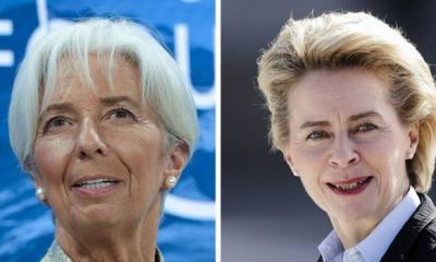 German minister Leyen, World Bank's Lagarde emerge first females to head EU's central bank