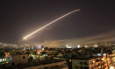 Syrian media says Israel carried out airstrikes in country's south