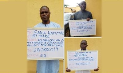 EFCC arrests 3 lawyers over alleged N20m fraud