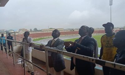 Sunday Dare at Kaduna stadium