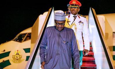 Buhari returns to Abuja from New York