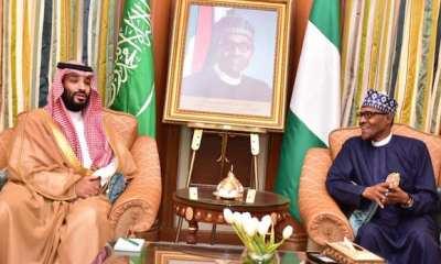 Buhari and saudi prince