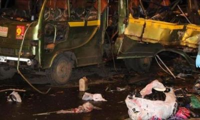 DR CONGO: 31 passengers feared killed, 16 others injured in bus accident