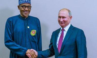 Buhari highlights priorities for Nigeria-Russia relationship