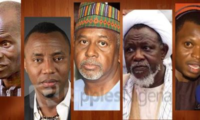 Are these Nigeria's emerging class of political prisoners? And, is the presidency in panic mood?