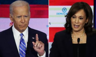 U.S ELECTION: Biden says he would consider Harris as running mate