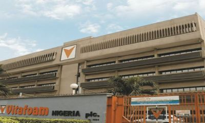 Vitafoam's full year profit soars by 297% as firm declares N525m dividendVitafoam's full year profit soars by 297% as firm declares N525m dividend