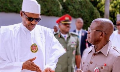APC CRISIS: Buhari orders anti-Oshiomhole state chairmen to sit down and keep quiet