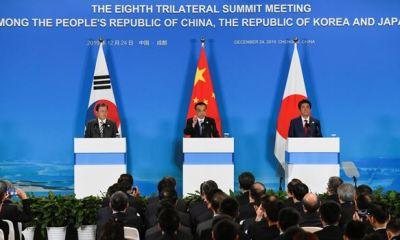 S'Korea, Japan, China leaders to promote N'Korea-U.S dialogue