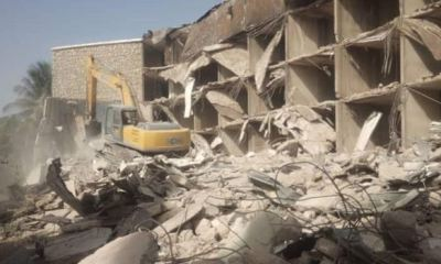 Kaduna court stops demolition of Abacha's hotel